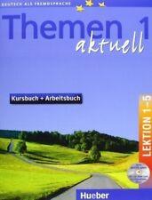 B00EKYX2VG Themen 1 Aktuell Lektion 1-5 Kursbuch + Arbeitsbuch, (inkl. CD-ROM)
