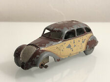 Jouet Ancien Dinky Toys Peugeot 402 berline Taxi 24K