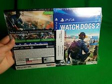 Gamestop PS4 Watch Dogs 2 Promotional Box Art Sleeves
