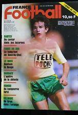France Football 26/11/1985; Nantes/ Corée du Sud/ Dassaev/ Belgique/ Ecosse