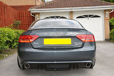 AUDI A5 COUPE HECK DIFFUSOR 2007-11 RS OPTIK