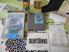 -* - ~~  SILENT  SERVICE  ~~  -  - _*_  cOmplet  pOur Nintendo Nes