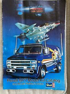 Revell 1977 Model Kit Catalog And Model Builder's Guide Magazine