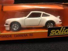 SUPER RARE!!! Solido # 24 ~ PORSCHE CARRERA RS ~ In Solid White ~ France 1973
