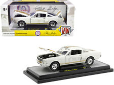 1966 Ford Mustang Shelby Gt350H White 1/24 Diecast Model Car By M2 40300-75 A