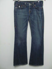 """True Religion Womens Jeans Pants Boot Cut? Twisted Pocket Flaps Size 28 ins: 30"""""""