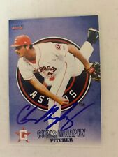 Chris Murphy 2015 Signed Greeneville Astros Team Card