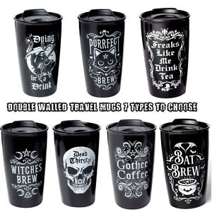 Alchemy -  Double Walled Travel Mugs - 7 Varieties to Choose from.