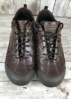 ALLROUNDER by Mephisto Womens leather BROWN Lace Up Walking Shoe~Sneaker~Sz 8