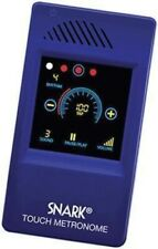 Snark Touch Screen Metronome 15 Rhythms 40 - 250 Bpm earphone jack portable Sm