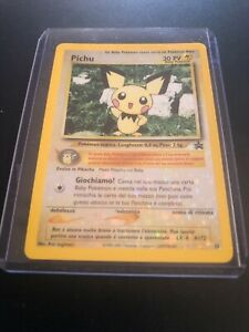 Carta Pokémon Pichu Holo Black Star Promo #35 Italiano Near Mint