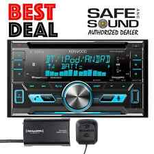 Kenwood DPX592BT Car Stereo AM FM CD USB DPX 592 + SXV300 SAT TUNER