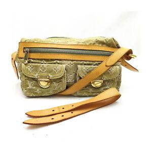 Louis Vuitton LV Shoulder Bag Baggy PM  M95213 Olive Monogram Denim 1526570