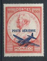 Monaco PA N°14** (MNH) 1946 - Prince Louis II et Avion