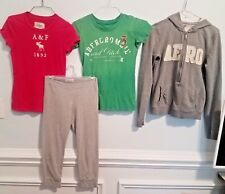 LOT OF 4 PIECE WOMANS MED ABERCROMBIE & AEROPOSTAL CLOTHING!