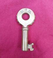 "Antique ""Knobby"" PRR Pennsylvania Railroad Key Brass Fraim Keystone Logo"