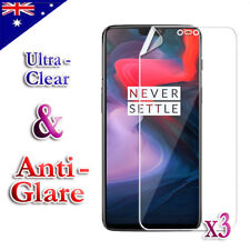 3X Ultra Clear & Anti-Glare Matte Screen Protector Film For OnePlus 3 3T 5 5T 6