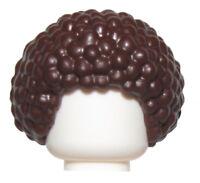 Unisex Black Afro Bubble NEW Genuine Girl Disco HAIR Lego M014 Male