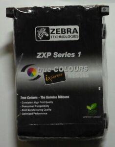 Zebra ZXP 1 Farbband schwarz black 800011-101  für  Kartendrucker ZXP1  OVP