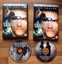 MINORITY REPORT - A STEVEN SPIELBERG FILM -  TOM CRUISE - 2 DISC SPECIAL EDITION