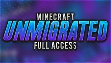 Minecraft Unmigrated Full Access Account ⭐Java Edition (Mac/PC) ⭐ Change Email ✅