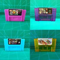 Super Multi Games in One Game Cartridge Card for Super Nintendo SNES USA-NTSC