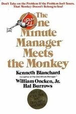 The One Minute Manager Meets the Monkey by Ken Blanchard (1989, Hardcover)
