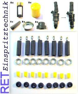 Reparatursatz Dichtsatz Einspritzdüsen Mercedes Benz BOSCH D-Jetronic 8 Zylinder