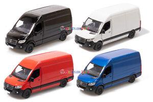 Kinsmart 1:48 5 inches Mercedes-Benz Sprinter Cargo Van Diecast Toy Car KT5426D
