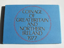 Collectable Royal Mint 1977 Great Britain & North Ireland Proof Coin Set