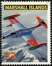 USAF NORTHROP F-89/F-89D SCORPION Interceptor Aircraft Airplane Mint Stamp