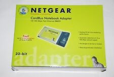 NIB Wireles NETGEAR FA511 CardBus Notebook Adapter (FA511) 5 Per Lot