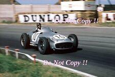 Juan Manuel Fangio Mercedes W196 British Grand Prix 1955 fotografía
