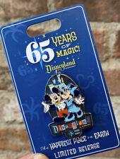 Disneyland 65th Anniversary 65 Years or Magic 2020 Mickey & Minnie LR Disney Pin