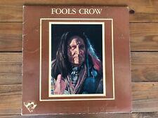 Fools Crow - S/T 1977 Tatanka TLP 100 Jacket VG Vinyl NM