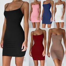 Dress Sleeveless Strap Mini Dresses Women Sexy Dress Package Hip Spaghetti