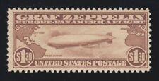 US C14 $1.30 Graf Zeppelin Airmail Mint F-VF OG NH SCV $550