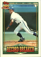 1991 Topps Tiffany Kansas City Royals Baseball Card #2 George Brett RB