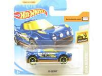 Hotwheels HI-Beam Baja Blazers 42/250 Blue Short Card 1 64 Scale Sealed New