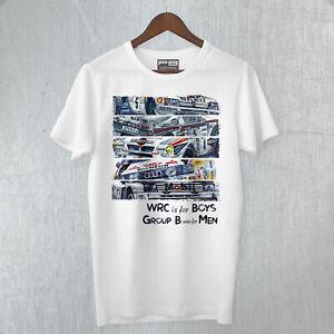 T-Shirt Maglietta Lancia DELTA Integrale Evoluzione World Ralley Champion Legend