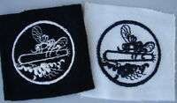"""Original WW2 US Navy PT BOAT Squadron Patch - Set of 2 - Small 2"""" Size"""