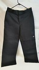 Dickies Mens Work Pants Loose Fit w/ Pockets Carpenter Style  Black  31 X 30