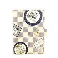 Louis Vuitton Damier Azur Patch Agenda PM Notebook Cover /91043