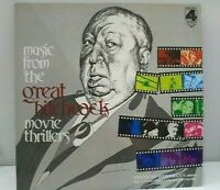 Alfred Hitchcock music from the great hitchcock movie thrillers Vinyl Record LP