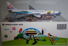 """JC Wings XX2964 Airbus A330-302 China Airlines """"Welcome to Taiwan"""" B-18355 1:200"""