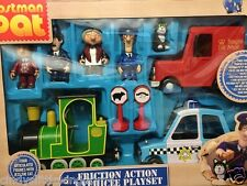 Postman Pat Vehicle Friction Action  Rocket Selby Car Van Figures Playset Set