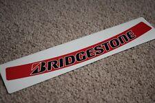 Bridgestone Visor Helmet Sunstrip Sport Racing Motorbike Bike Decal Sticker