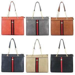 Ladies Bee Decoration Shoulder Bag Women's Chain Evening Fashion Handbag UK