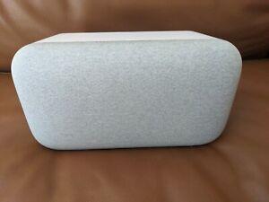 Google Home Max Smart Speaker - Pristine - Chalk