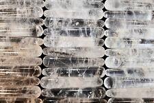 "Reiki Stick Quartz Crystal 4 1/4"" Massage Polished Metaphysical Healing Wand"